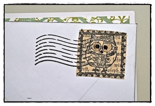 snailmail stamp